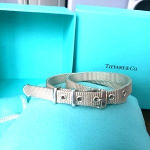 TIFFANY Double Wrap Mesh Bracelet